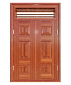 Cửa sổ thép vân gỗ KGS2.CS1-NC(3)