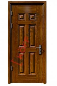 Cửa thép vân gỗ KG-104-1