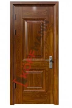 Cửa thép vân gỗ KG-106-1