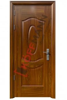 Cửa thép vân gỗ KG-107-1