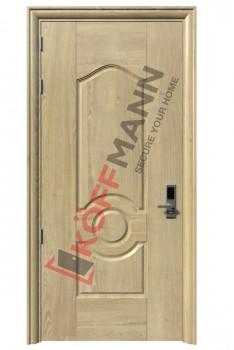 Cửa thép vân gỗ KG-112-1