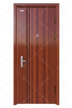 Cửa thép vân gỗ KG-1.08