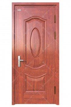 Cửa thép vân gỗ KG-1.07-1