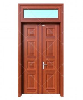 Cửa thép vân gỗ KG22.CS1-1TK