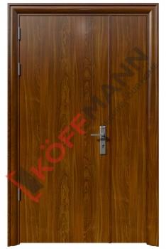 Cửa thép vân gỗ KG-218