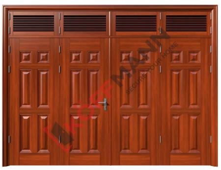 Cửa thép vân gỗ KG-424T