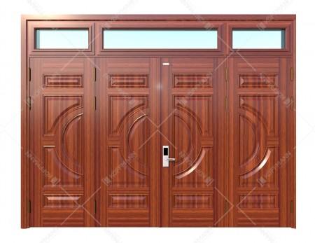 Cửa thép vân gỗ KG-42.01.01-3TK