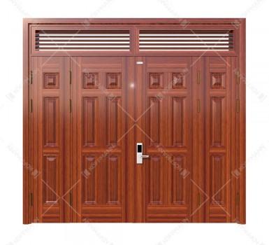 Cửa thép vân gỗ KG-41.04.04A-2NC